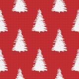 Seamless Merry Christmas Festive Pattern with Tree. Seamless Pattern of Christmas Tree, Modern  and Creative Festive Textile, Gift Wrap, Wall Art Design, Merry Stock Images