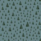 Seamless Merry Christmas Festive Pattern with Tree. Seamless Pattern of Christmas Tree, Modern  and Creative Festive Textile, Gift Wrap, Wall Art Design, Merry Stock Photos