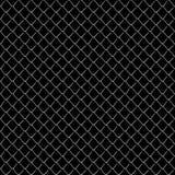 Seamless mesh netting on black background. Stock Image