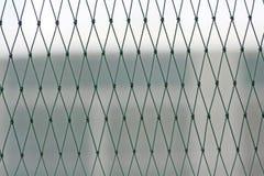 Seamless mesh nylon pattern,protect bird into the building stock photos