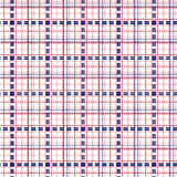 Seamless mesh pattern in blue and red Royalty Free Stock Images