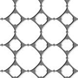 Seamless mesh pattern Stock Photography