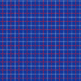 Seamless mesh pattern over blue Royalty Free Stock Photos