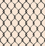 Seamless mesh. Vector. Doodle style Stock Photo