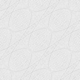 Seamless meshy pattern. 3D illusion. Vector illustration Royalty Free Stock Photo