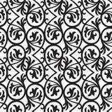 Seamless metal frame pattern Stock Image