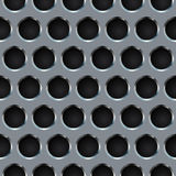 Seamless metal grill Stock Photos
