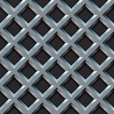 Seamless metal grill Royalty Free Stock Image