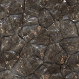 Seamless Metal Ridge Background Stock Photo