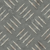 Seamless Metal Ridge Background Royalty Free Stock Image