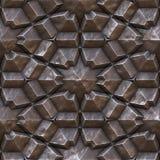 Seamless metal texture Stock Photography