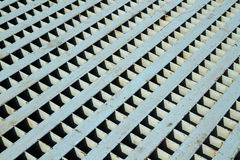 Seamless metal texture or background. Seamless metal texture on metal grate Stock Images