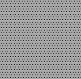 Seamless metal texture. with holes Royalty Free Stock Photo