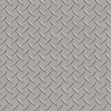 Seamless metal texture rhombus shapes 3 Royalty Free Stock Images