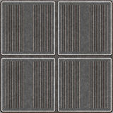Seamless Metal Tiles. Seamless worn metal plates with grooves that tile seamlessly as a pattern in any direction Stock Photography
