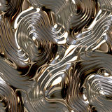 Seamless metallic background Stock Photos
