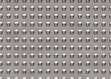 Seamless metallic plate Stock Images