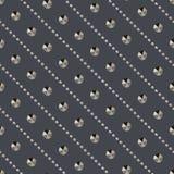Seamless metallic rivets diamonds pattern texture vector backgro Stock Images