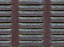Seamless metallic ventilation grille texture Stock Image
