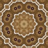 Seamless metalwork pattern 004 Royalty Free Stock Photo