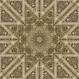 Seamless metalwork pattern 005 Royalty Free Stock Photography