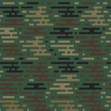 seamless militär modell royaltyfri illustrationer