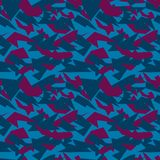 Seamless military camouflage texture. Stock Image