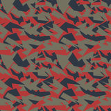 Seamless military camouflage texture. Stock Images