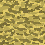 Seamless military camouflage texture. Royalty Free Stock Image