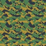 Seamless military camouflage texture Royalty Free Stock Photos