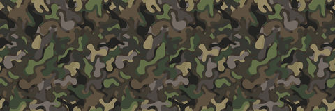 Seamless military camouflage vector background royalty free illustration