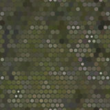 Seamless military dot background Royalty Free Stock Photos