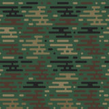Seamless military pattern  Royalty Free Stock Image