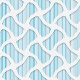 Seamless Minimalistic Pattern. Abstract Fine Background Stock Photos
