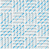 Seamless Minimalistic Pattern. Abstract Fine Background Royalty Free Stock Photos