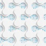 Seamless Minimalistic Pattern. Abstract Fine Background Stock Photo
