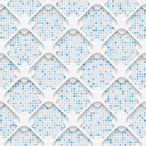Seamless Minimalistic Pattern. Abstract Fine Background Royalty Free Stock Image