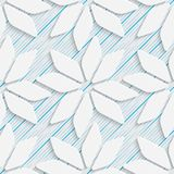 Seamless Minimalistic Pattern. Abstract Fine Background Royalty Free Stock Photo