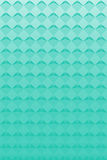 Seamless mint green squares - vertical abstract pattern tillable horizontally Stock Images