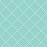 Seamless mint and white art deco square chevrons pattern vector. Seamless mint and white art deco square chevrons pattern Royalty Free Stock Photos