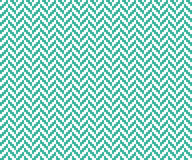 Seamless mint and white vintage pixel herringbone pattern vector. Seamless mint and white vintage pixel herringbone pattern Royalty Free Stock Image