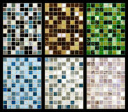 Seamless mix of mosaic. Royalty Free Stock Photo
