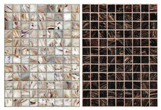 Seamless mix of mosaic Royalty Free Stock Photos