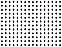 seamless modell Abstrakt begreppsidor av svarta träd på en vit bakgrund vektor Arkivbild