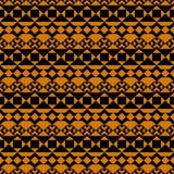 seamless modell Afrikanska motiv geometrisk bakgrund Fotografering för Bildbyråer