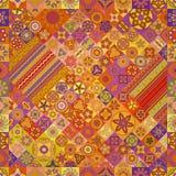 seamless modell dekorativ elementtappning bakgrund tecknad hand Islam arabiska, indier, ottomanmotiv Royaltyfria Foton