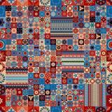 seamless modell dekorativ elementtappning bakgrund tecknad hand Islam arabiska, indier, ottomanmotiv Royaltyfria Bilder