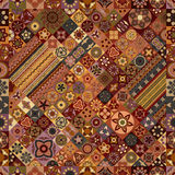 seamless modell dekorativ elementtappning bakgrund tecknad hand Islam arabiska, indier, ottomanmotiv Royaltyfri Fotografi