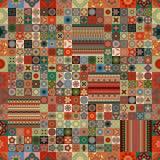 seamless modell dekorativ elementtappning bakgrund tecknad hand Islam arabiska, indier, ottomanmotiv Göra perfekt för utskrift royaltyfri illustrationer