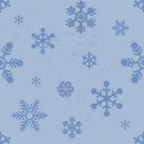 Seamless modell för Snowflakes Royaltyfria Foton